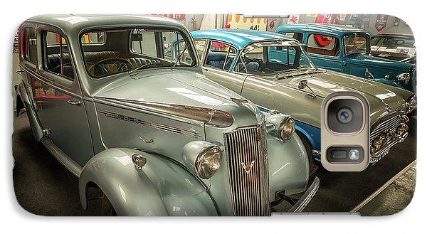 Galaxy Case featuring the photograph Classic Car Memorabilia by Adrian Evans