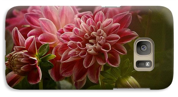 Galaxy Case featuring the photograph Classic Dahlia 2016 by Richard Cummings