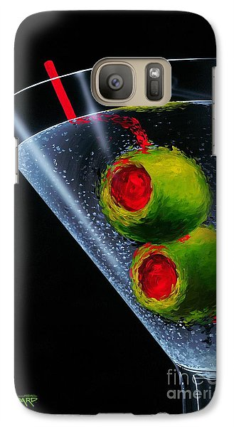 Classic Martini Galaxy S7 Case by Michael Godard