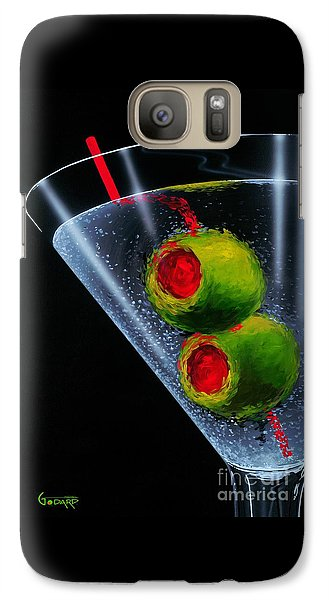 Cocktails Galaxy S7 Case - Classic Martini by Michael Godard