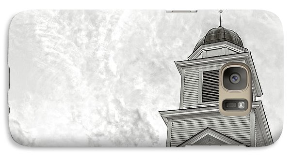 Galaxy Case featuring the photograph Classic New England Church Etna New Hampshire by Edward Fielding