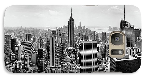 Empire State Building Galaxy S7 Case - Classic New York  by Az Jackson