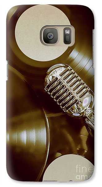 Classic Rock N Roll Galaxy S7 Case by Jorgo Photography - Wall Art Gallery
