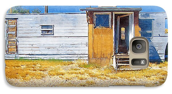 Galaxy Case featuring the photograph Classic Trailer by Susan Kinney