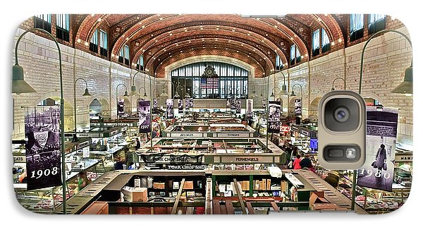 Classic Westside Market Galaxy S7 Case by Frozen in Time Fine Art Photography