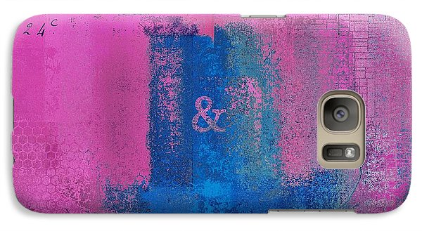 Galaxy Case featuring the digital art Classico - S0307d by Variance Collections