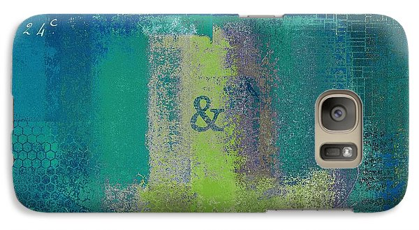 Galaxy Case featuring the digital art Classico - S03c04 by Variance Collections