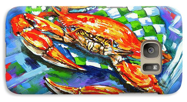 Galaxy Case featuring the painting Claw Daddy by Dianne Parks
