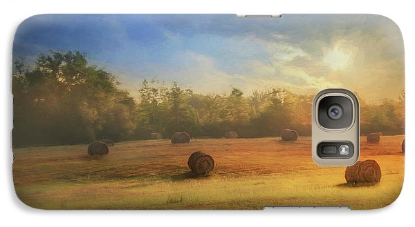 Galaxy Case featuring the photograph Clayton Morning Mist by Lori Deiter