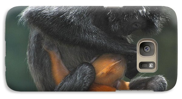 Galaxy Case featuring the photograph Cleaning Baby by Richard Bryce and Family