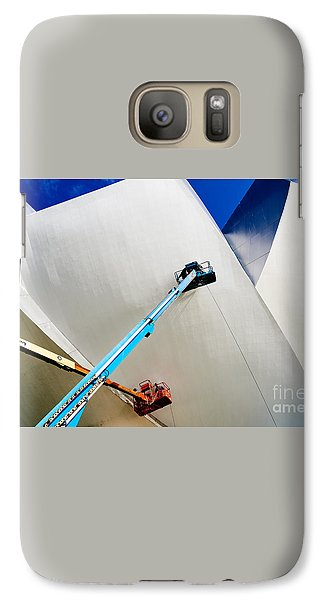 Galaxy Case featuring the photograph Cleanliness by Dean Harte