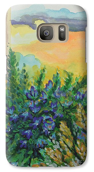 Galaxy Case featuring the painting Cleansed by Holly Carmichael