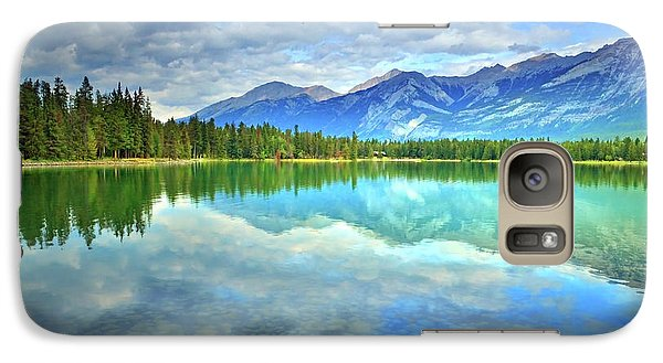 Galaxy Case featuring the photograph Clear Waters At Lake Annette by Tara Turner