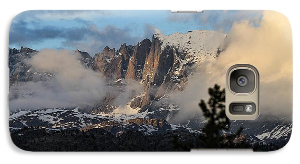Galaxy Case featuring the photograph Clearing Rain by Edward R Wisell