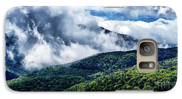 Galaxy Case featuring the photograph Clearing Storm Highland Scenic Highway by Thomas R Fletcher