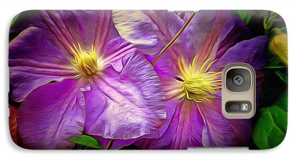 Clematis Azure Pearl Galaxy S7 Case