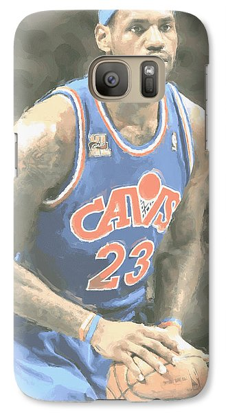 Cleveland Cavaliers Lebron James 1 Galaxy S7 Case
