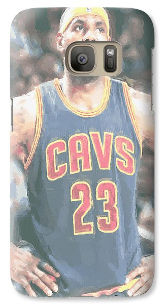 Cleveland Cavaliers Lebron James 5 Galaxy S7 Case