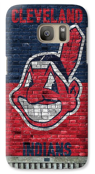 Cleveland Indians Brick Wall Galaxy S7 Case