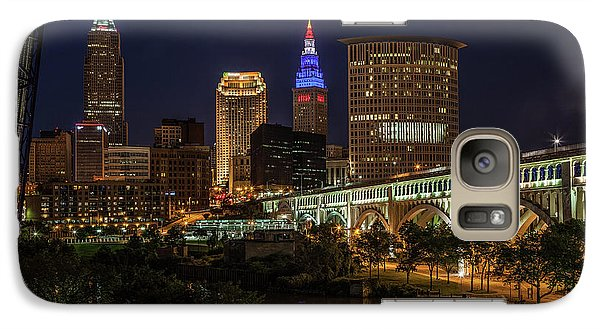 Cleveland Nightscape Galaxy S7 Case