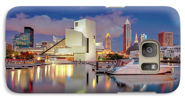 Galaxy Case featuring the photograph Cleveland Ohio 2  by Emmanuel Panagiotakis