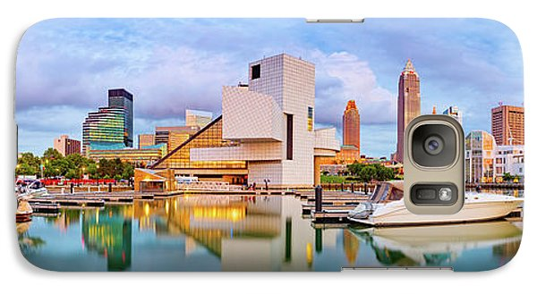 Galaxy Case featuring the photograph Cleveland  Pano 1  by Emmanuel Panagiotakis