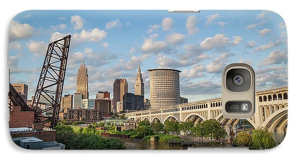 Cleveland Skyline Vista Galaxy S7 Case