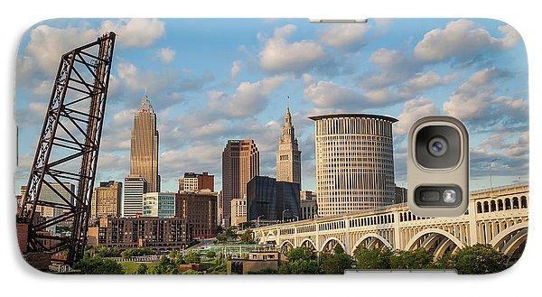 Cleveland Summer Skyline  Galaxy S7 Case