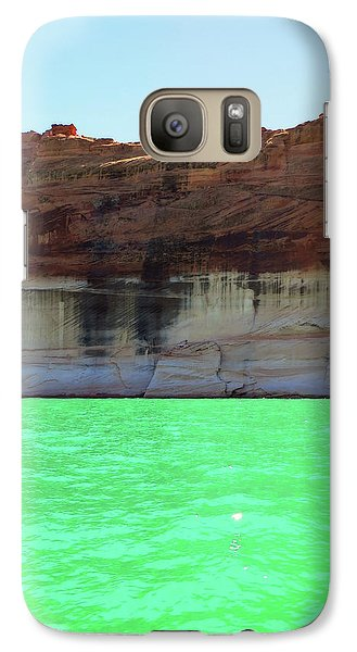 Cliff At Lake Powell Galaxy S7 Case