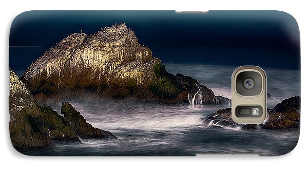 Galaxy Case featuring the photograph Cliff House San Francisco Seal Rock by Steve Siri