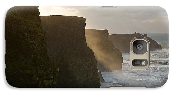 Galaxy Case featuring the photograph Cliffs Of Moher II by Louise Fahy