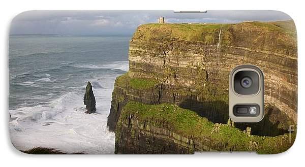 Galaxy Case featuring the photograph Cliffs Of Moher by Louise Fahy