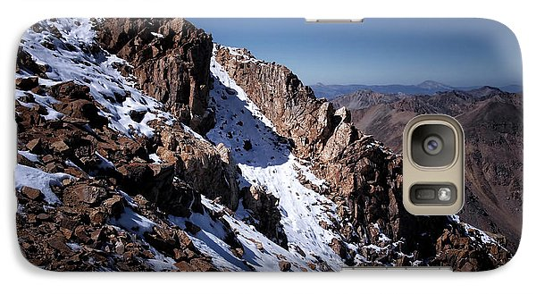 Galaxy Case featuring the photograph Climb That Mountain by Jim Hill