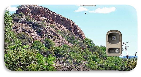 Galaxy Case featuring the photograph Climbing Rock by Teresa Blanton