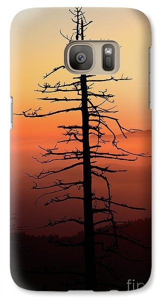 Galaxy Case featuring the photograph Clingman's Dome Sunrise by Douglas Stucky