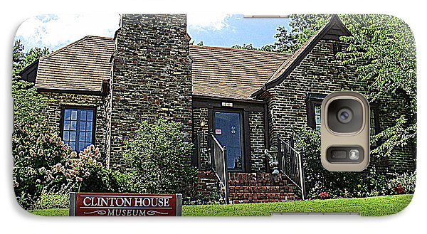 Clinton House Museum 1 Galaxy S7 Case by Randall Weidner