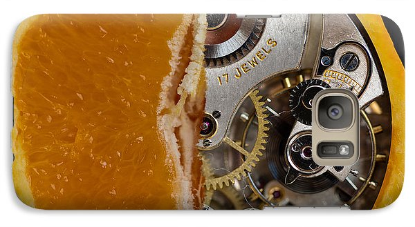 Galaxy Case featuring the photograph Clockwork Orange by Brian Roscorla