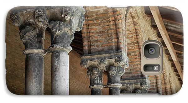 Galaxy Case featuring the photograph Cloister Columns, Couvent Des Jacobins by Elena Elisseeva