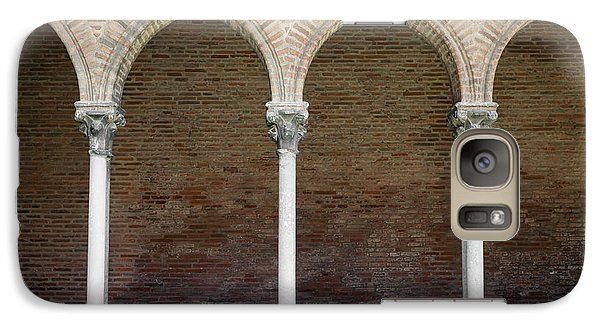 Galaxy Case featuring the photograph Cloister With Arched Colonnade by Elena Elisseeva