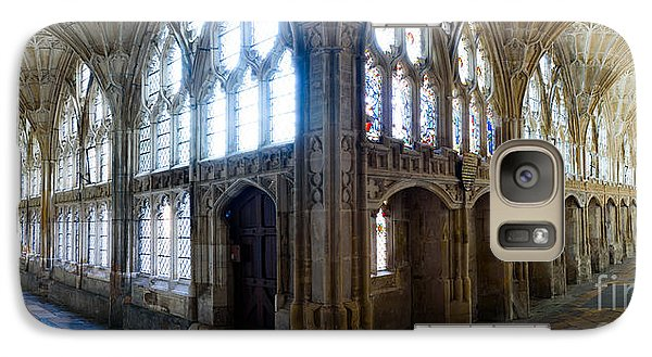 Galaxy Case featuring the photograph Cloisters, Gloucester Cathedral by Colin Rayner