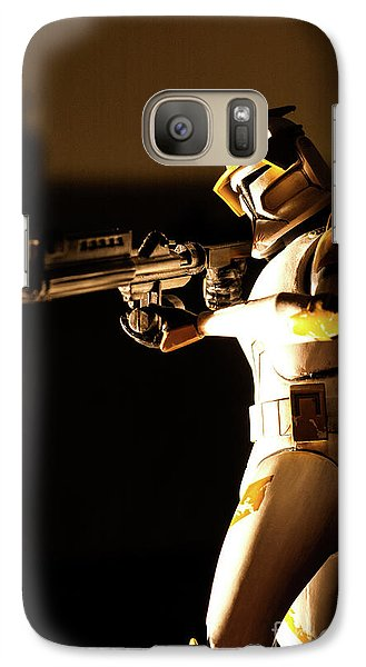 Galaxy Case featuring the photograph Clone Trooper 7 by Micah May