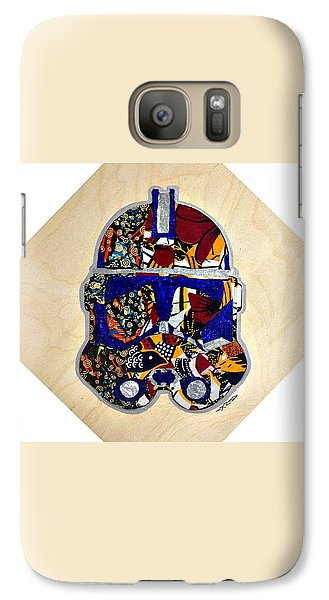 Galaxy Case featuring the tapestry - textile  Clone Trooper Star Wars Afrofuturist by Apanaki Temitayo M