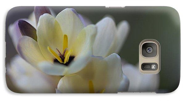 Close-up Of White Freesia Galaxy S7 Case