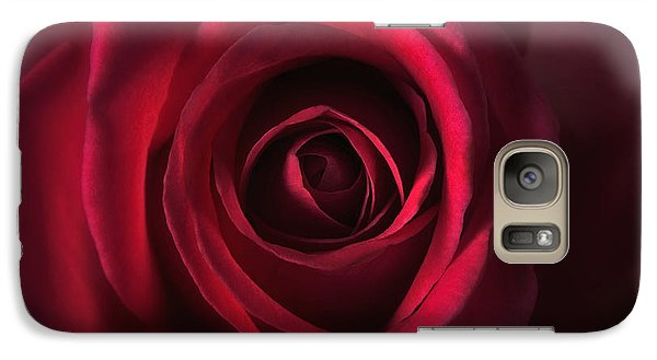 Galaxy Case featuring the photograph Close Up Red Roses Flowers Art Work Photography by Artecco Fine Art Photography