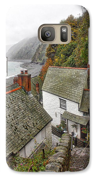 Galaxy Case featuring the photograph Clovelly Coastline by RKAB Works