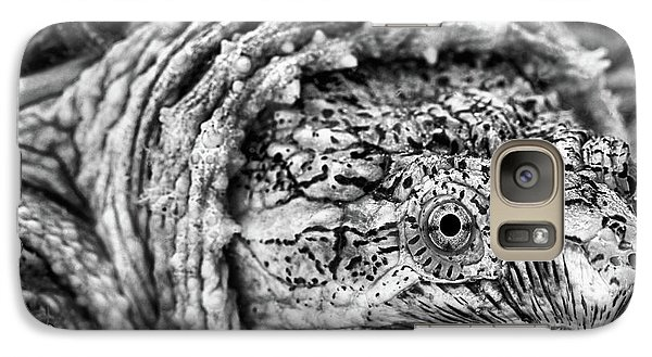Galaxy S7 Case featuring the photograph Closeup Of A Snapping Turtle by JC Findley