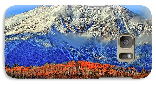 Galaxy Case featuring the photograph Closing In On Fall by Scott Mahon