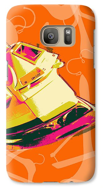 Galaxy Case featuring the digital art Flat Iron  by Jean luc Comperat