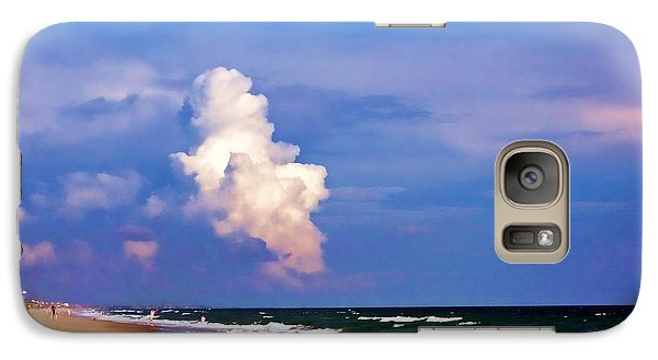 Galaxy Case featuring the photograph Cloud Approaching by Roberta Byram