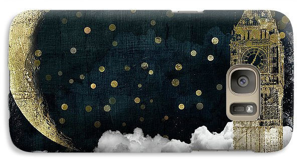 Cloud Cities London Galaxy Case by Mindy Sommers